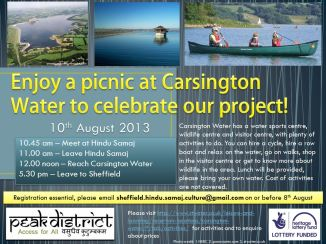 Carsington water flyer
