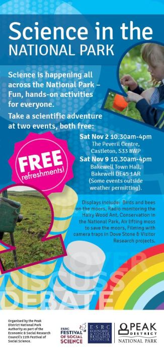 science in the national park flyer