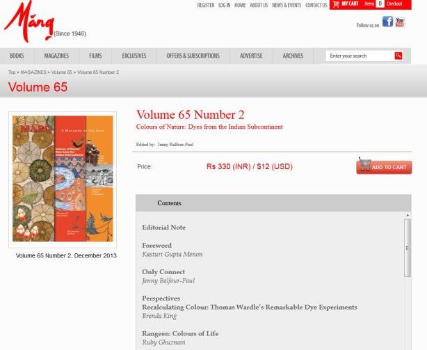 marg contents web capture
